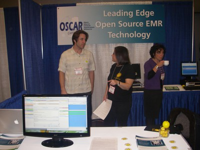 OSCAR booth SPH CME