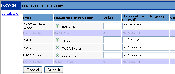 Measurement Group Example 4