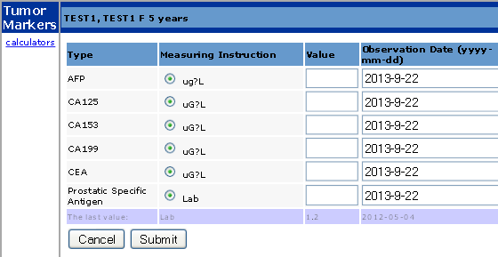 Measurement Group Example 6