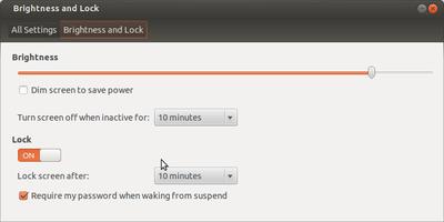 Lock settings2
