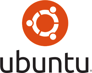 Ubuntu logo vertical stacked